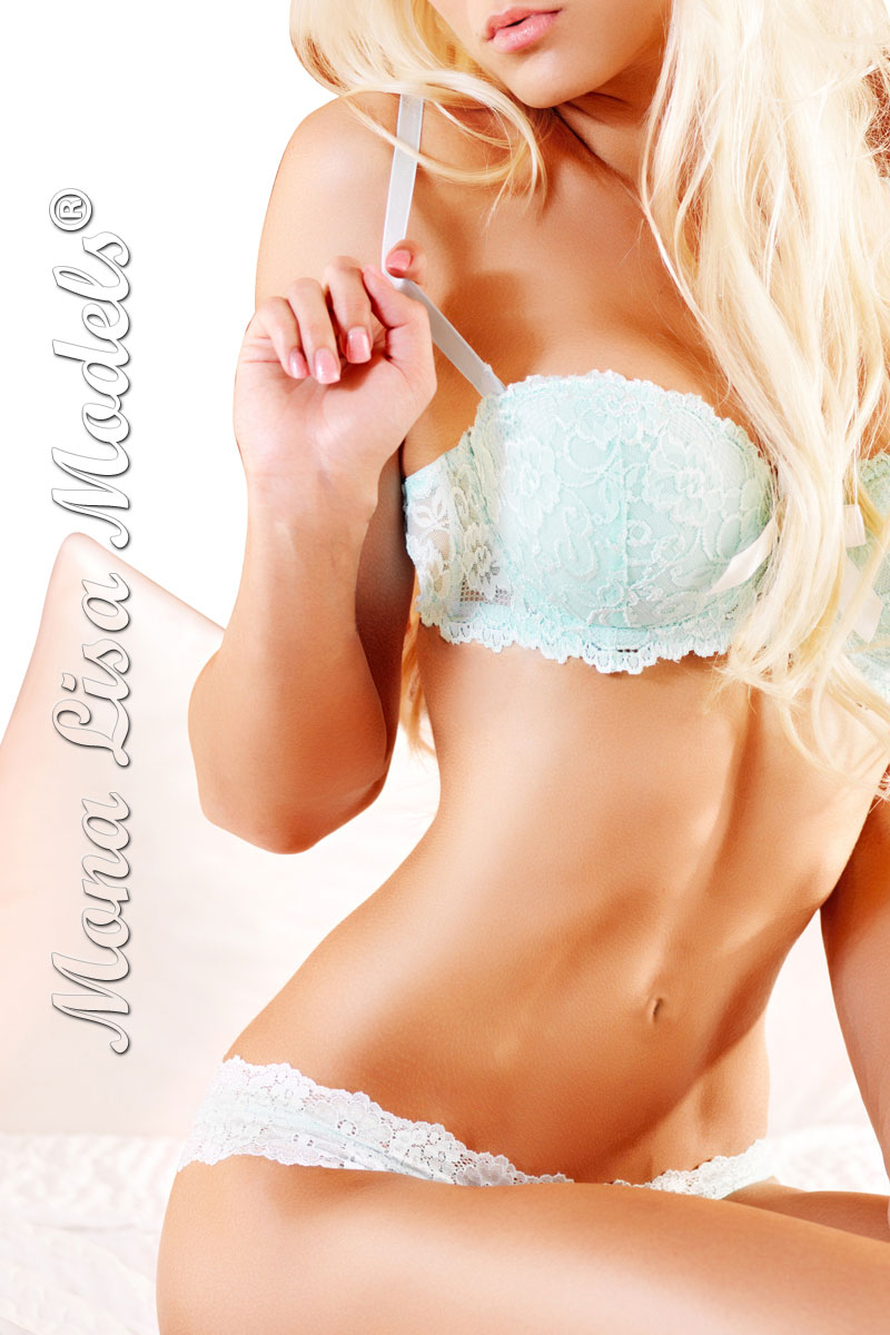 Elite Bronte escorts with blond hair and blue eyes