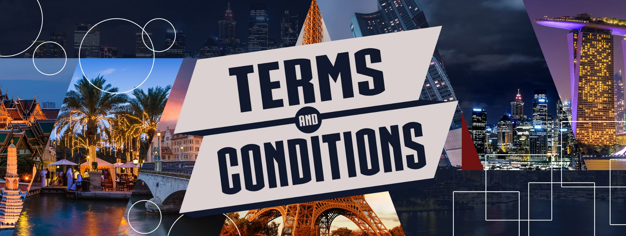 Terms and Conditions for the Agency